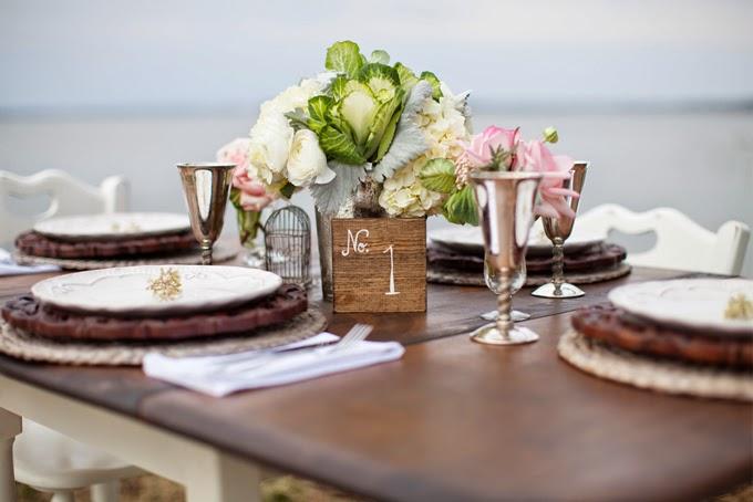 Cape Cod Styled Vintage Wedding Inspiration