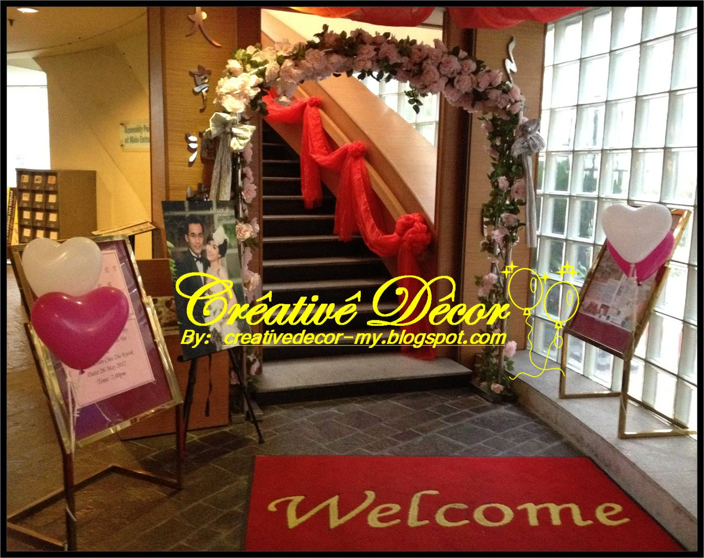Creativedcor By Vincent Balloon Decoration For Chinese Wedding