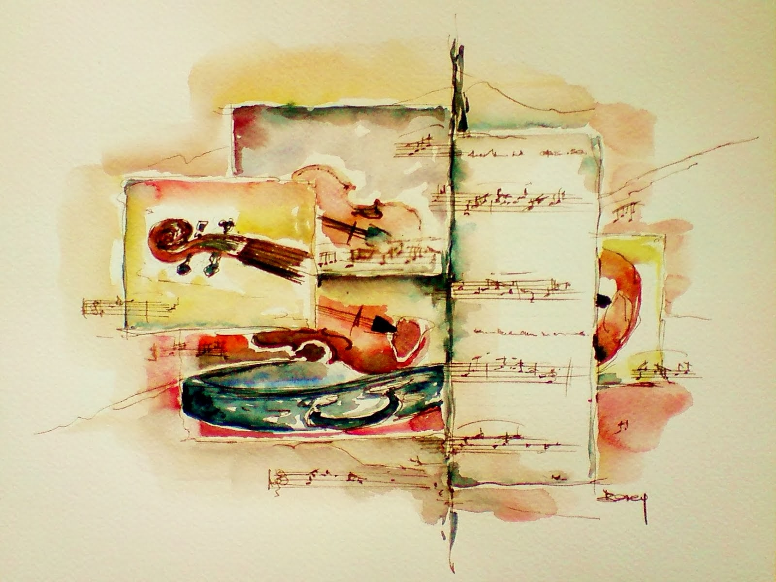 En musique!