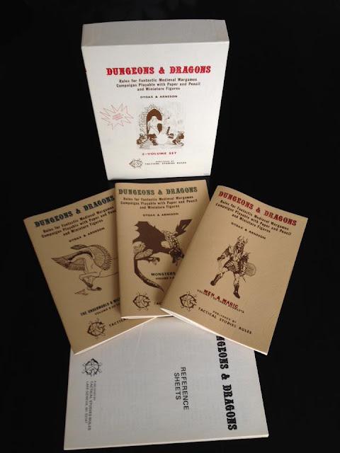 Original Dungeons & Dragons White Box — Corey Ryan Walden