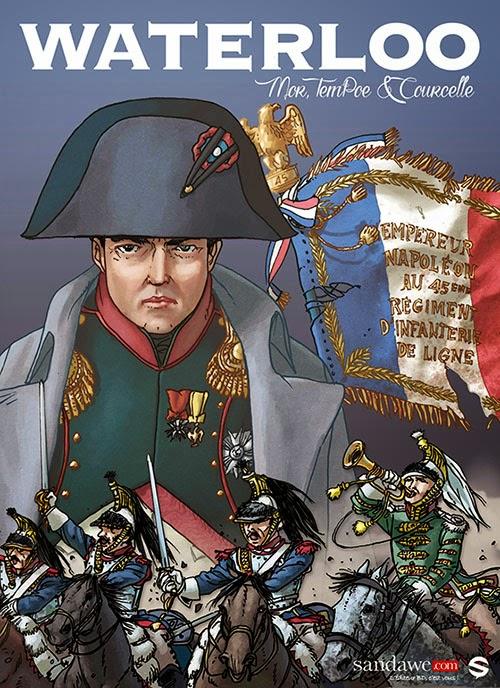 Waterloo défaite napoléon BD