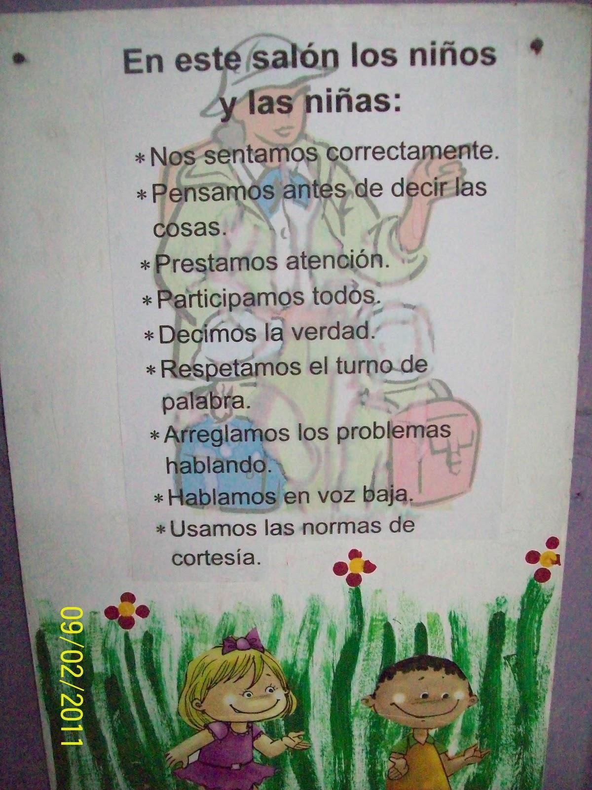 importancia de los carteles en el preescolar los carteles