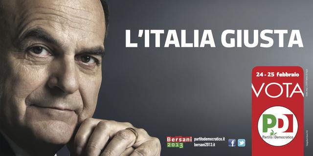 L'ITALIA GIUSTA - BERSANI 2013 - VOTA PD