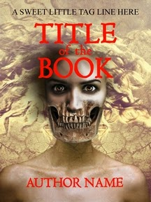 horror premade book cover by ccr