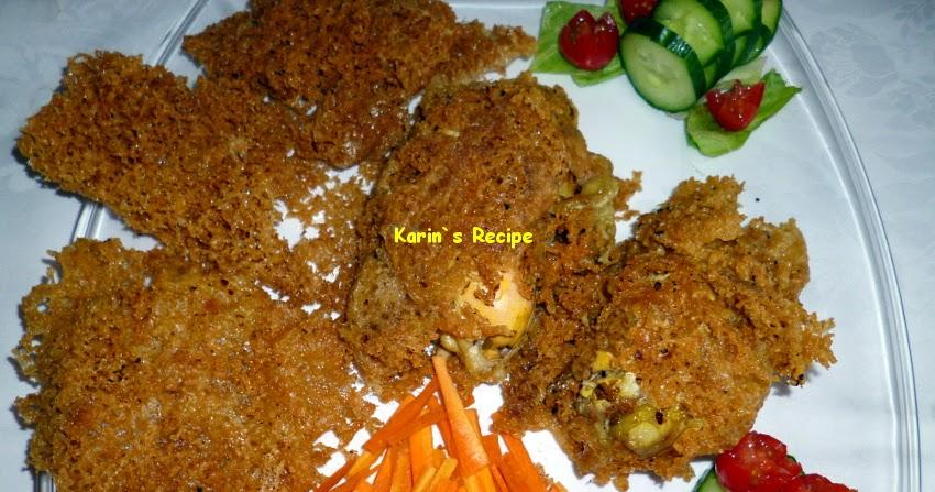 Resep Ayam Kremes Utuh