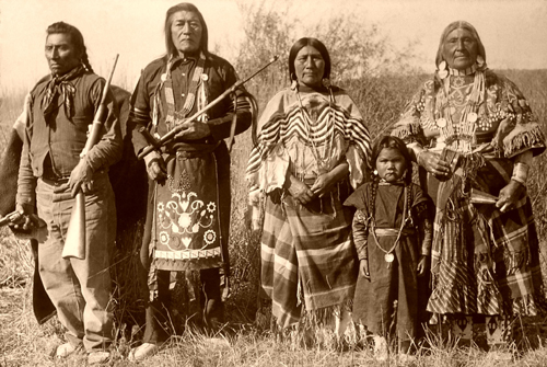 Native Americans of the American West on emaze