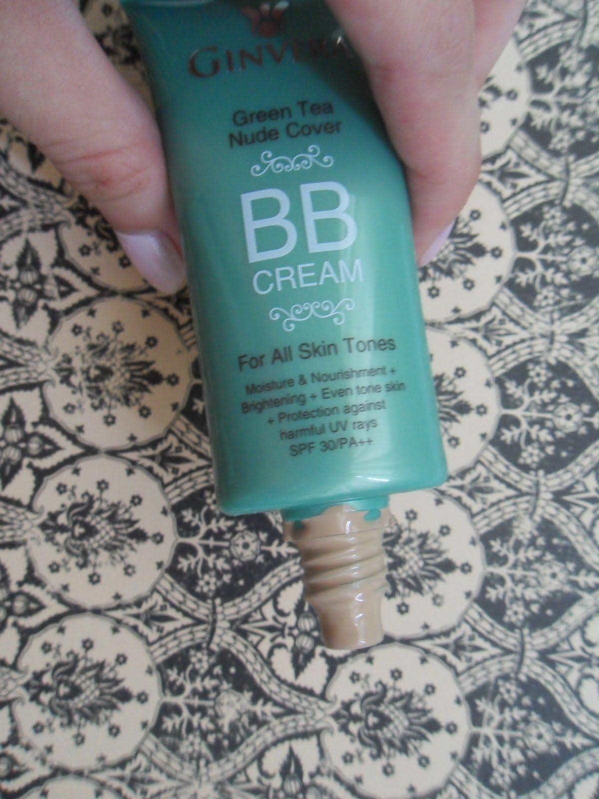 Floral Republic: Review: Ginvera Green Tea BB Cream