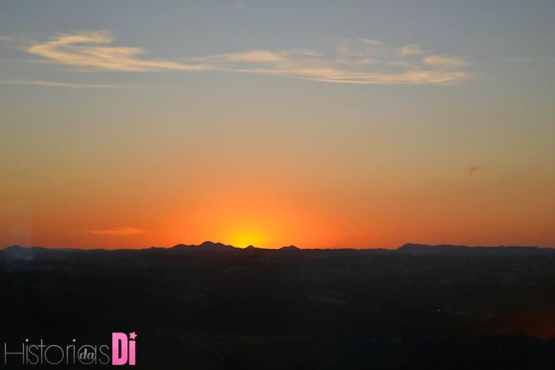 Vista de Curitiba no Por do Sol