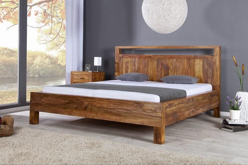 masivny nabytok do spalne, postel z masivu, masivne drevo