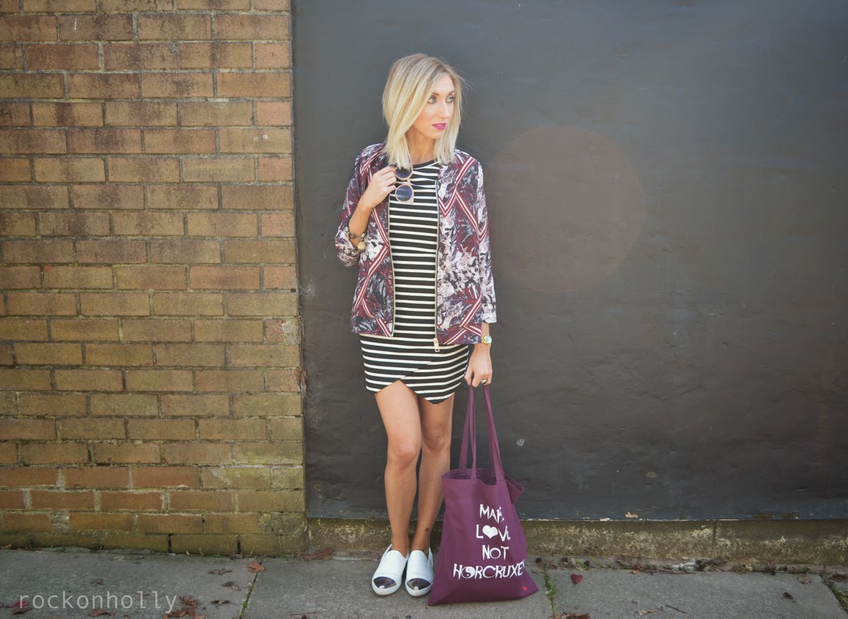 Topshop Stripey Dress