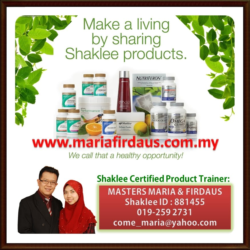 Shaklee Certified Product Trainer