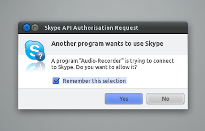 Audio Recorder for Linux to record Skype call