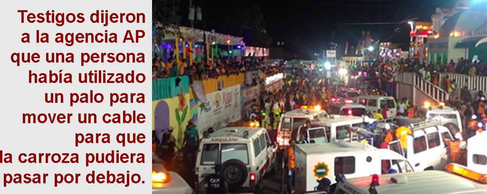 MUNDO: Mueren electrocutadas unas 20 personas en carnaval de Haití