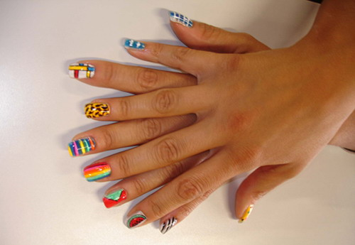 Best Nail Polish Paintings Hession Hairdressing