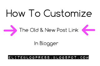 Customize-newer-post-older-post-link