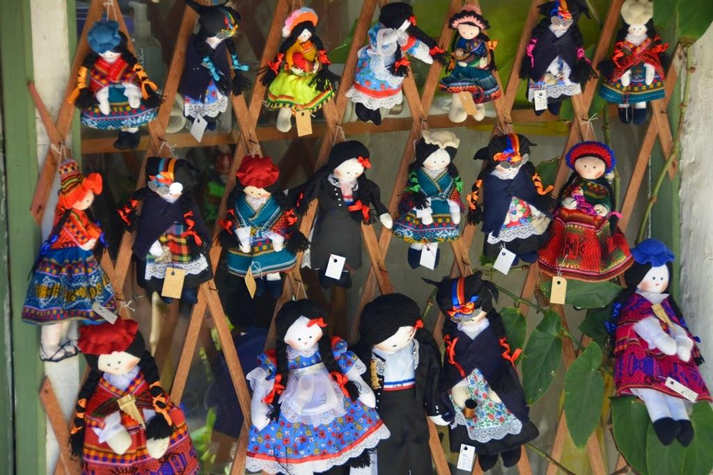 Centre Artisanal de Los Dominicos Santiago puppet