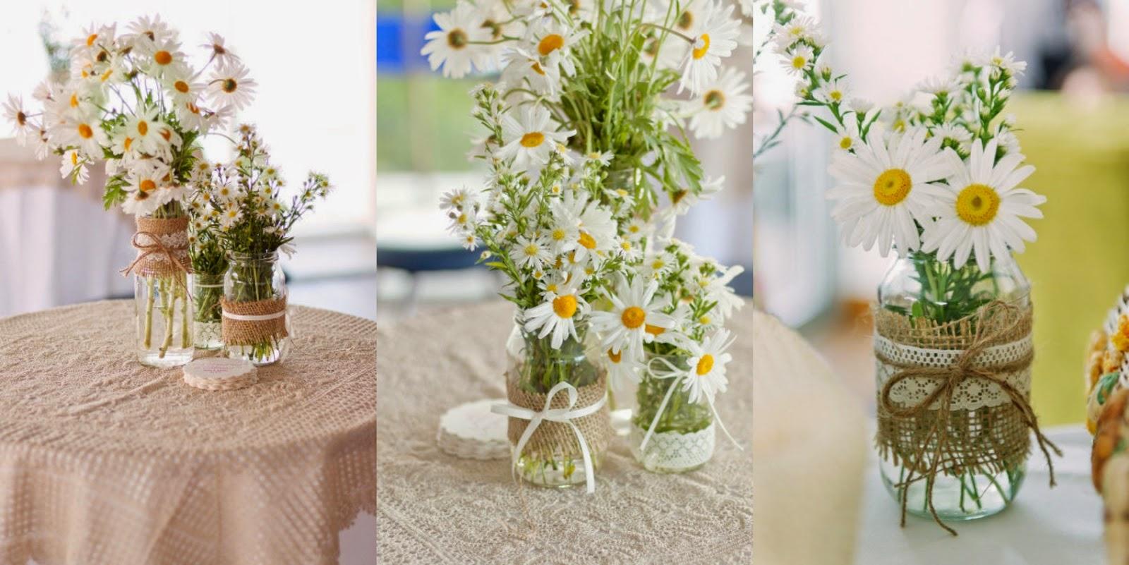 Como fazer um arranjo de flores simples para mesa de festa ou eventos