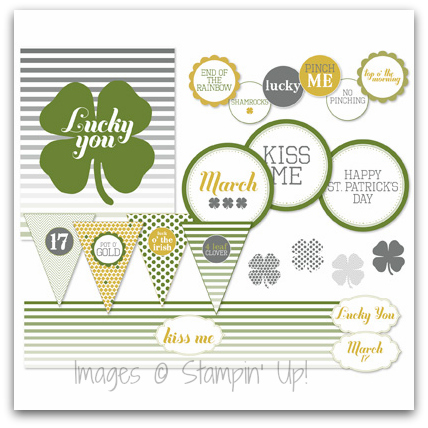 Stampin' Up! Lucky You Ensemble Digital Download