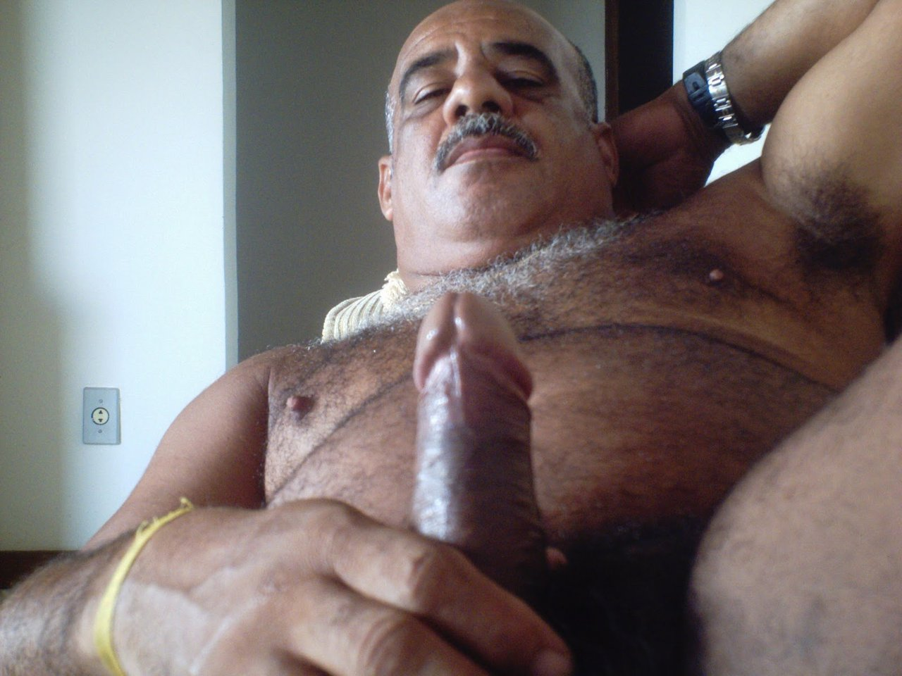 old man nude indian