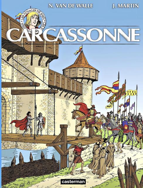 Les voyages de Jhen 03. Carcassonne - N. Van De Walle & J. Martin