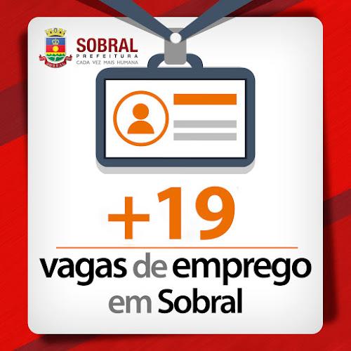 Oportunidades: Mais 19 vagas de emprego em Sobral; confira!