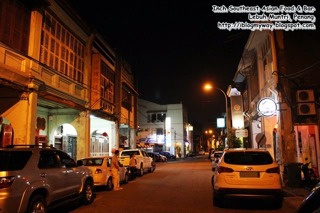 Inch Southeast Asian Food & Bar Lebuh Muntri, Penang, Hidden Gem in Penang