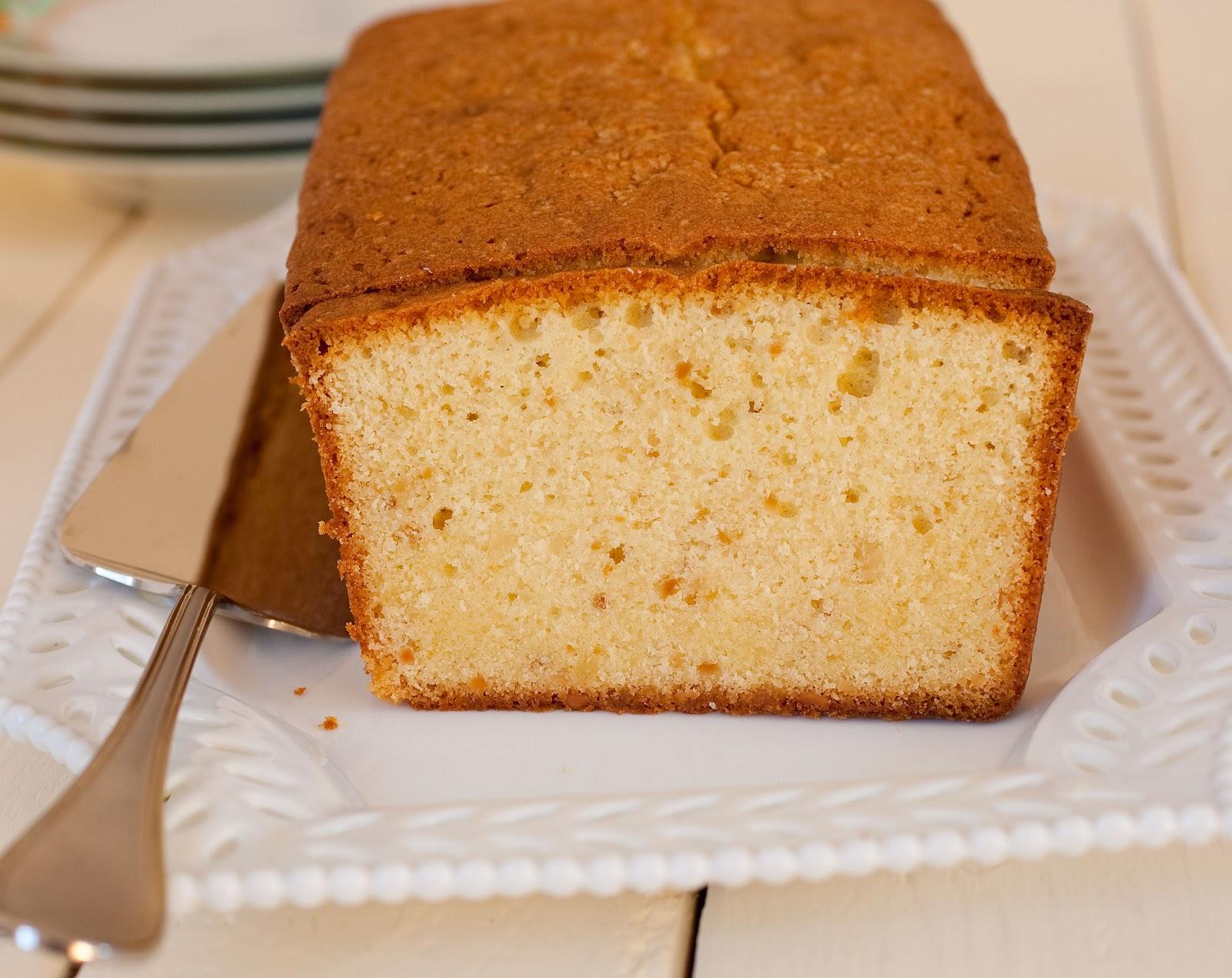 Tish Boyle Sweet Dreams: Toasted Almond Pound Cake