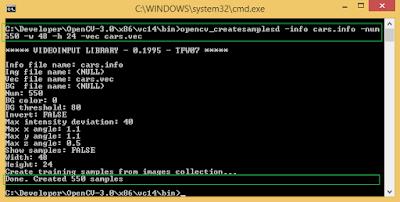 opencv_createsample.exe