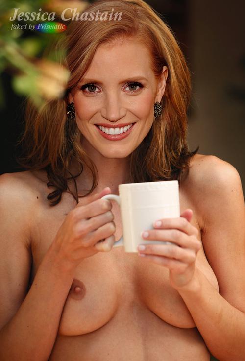 Джессика честейн порно фото