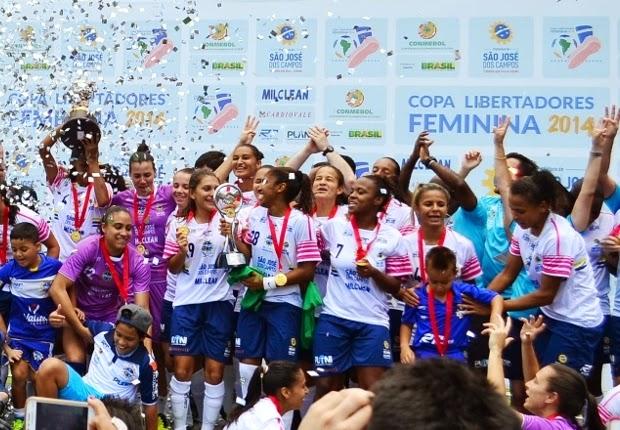 Blog Heroicas: Time feminino São José torna-se tricampeão na Libertadores Feminina 2014