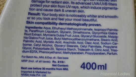 Nivea-Whitening-Cell-Repair-&-UV-Protect-Body-Lotion-ingredients-+-best-moisturizer