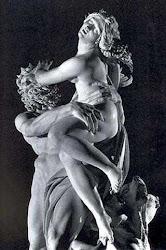 Na Galleria Borghese, em Roma , a obra de Bernini