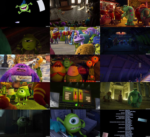 Monsters University DVDRip Latino