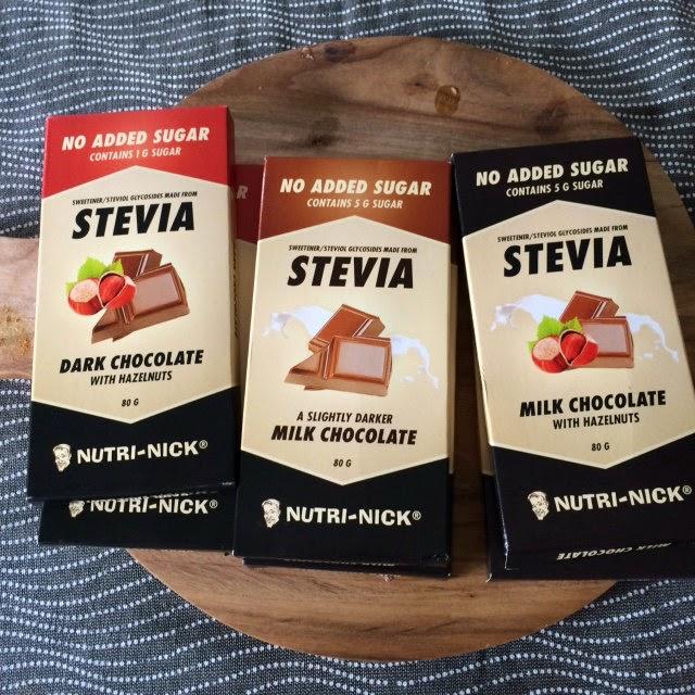 choklad med stevia
