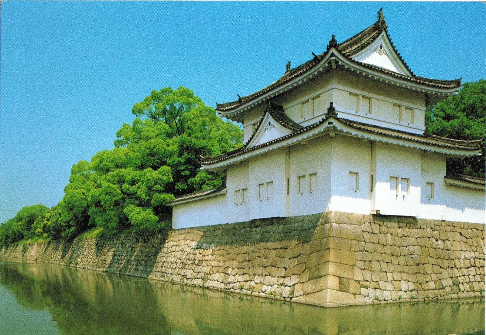 Nijo-jo Castle in Kyoto (Japan)  Jonathans PHILATELY blog