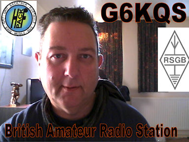 G6KQS British Amateur Radio Station In the Seaside town of Margate in Kent