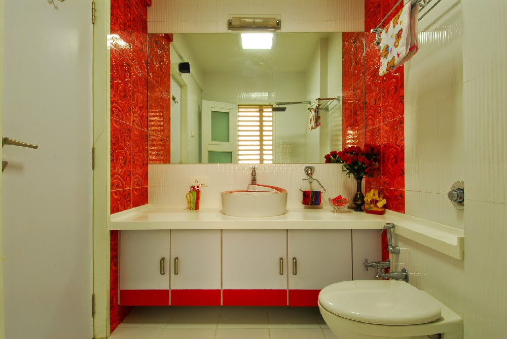 Five simple bathroom decorating ideas home ideas blog for Simple toilet design