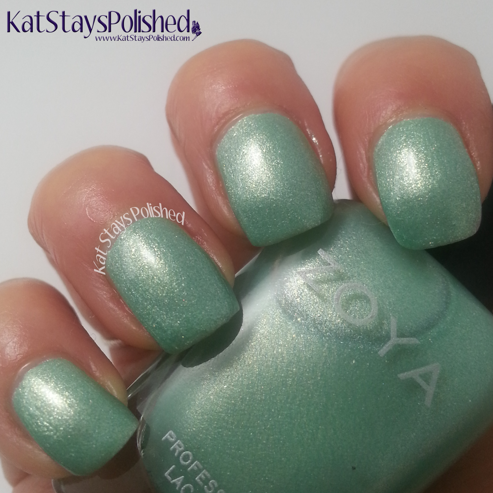 Zoya Awaken and Monet - Spring 2014 - Dillon | Kat Stays Polished