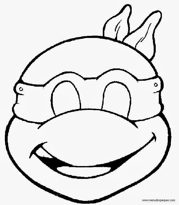 máscara tartaruga ninja tortuga