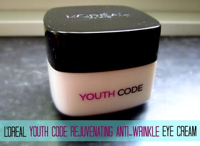 L'Oreal Youth Code Rejuvenating Anti-Wrinkle Eye Cream