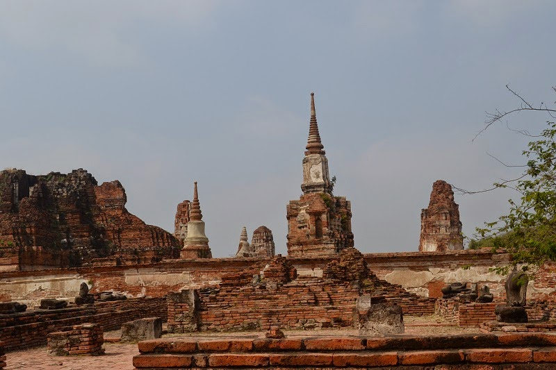 Wat Phra Mahathat, temple, Ayutthaya, Thailande