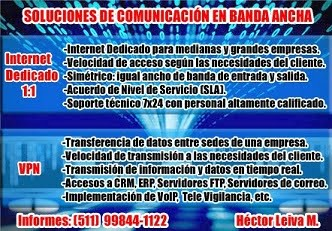 Servicio de Internet Dedicado