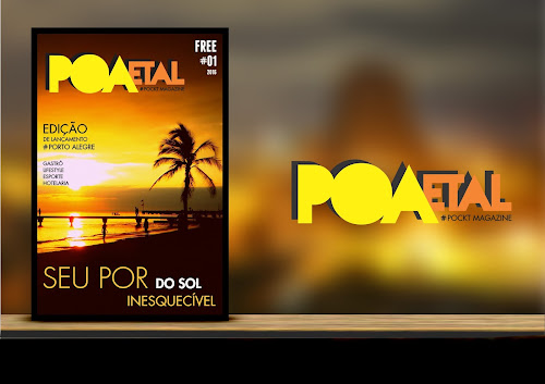 Conheça a Pocket Magazine POA e Tal, a Revista que Literalmente cabe no seu Bolso!