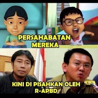 #SaveAhok vs #SaveHajiLulung, Antara Ahok vs DPRD