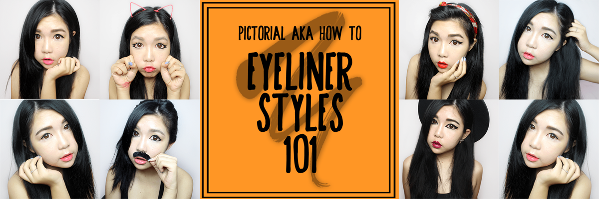 [PICTORIAL] Eyeliner Styles 101