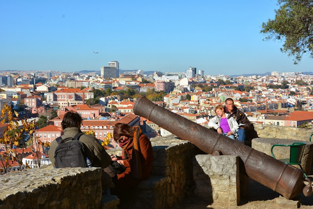Castelo de Sao Jorge Lisbon views
