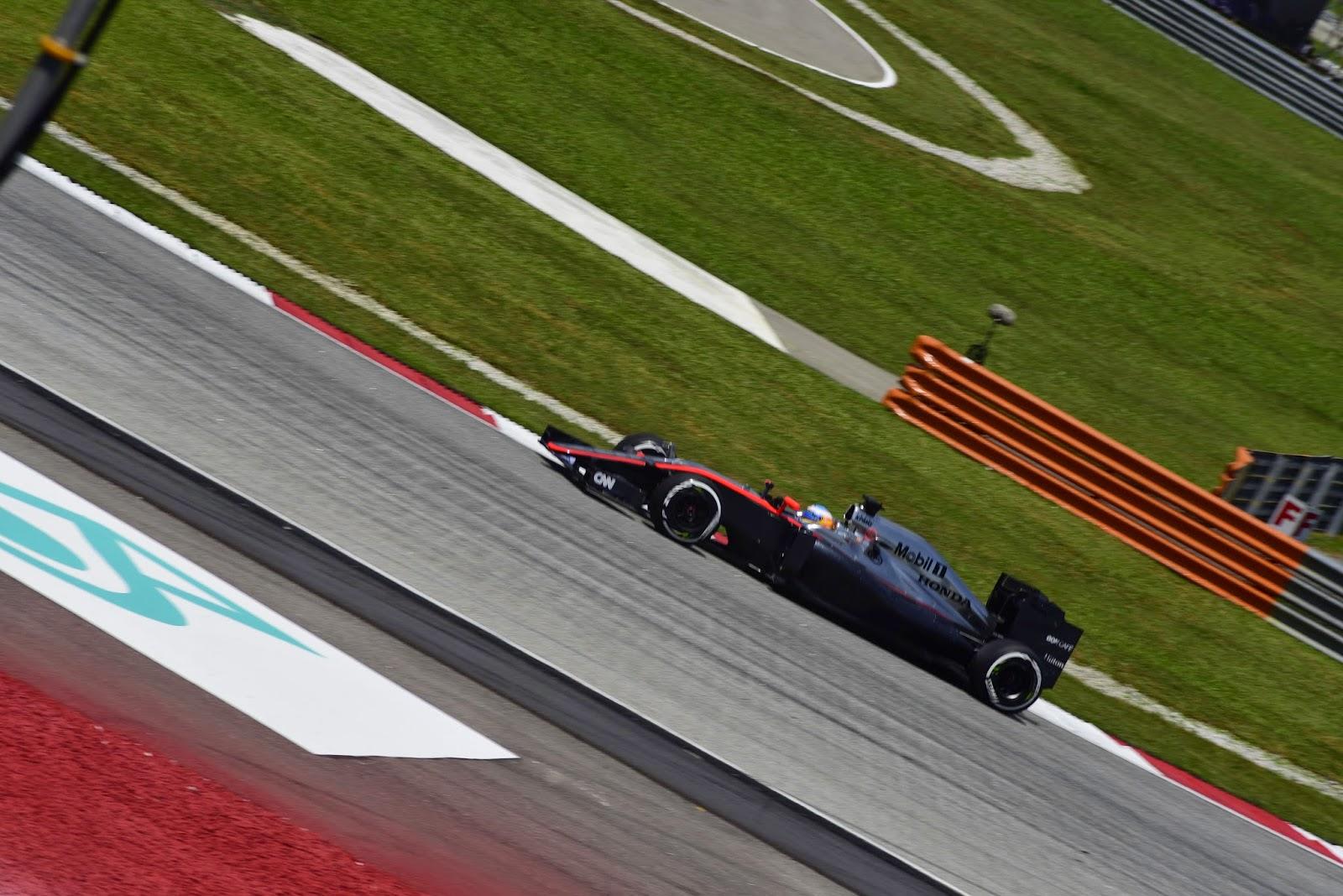 Alonso at Sepang 2015