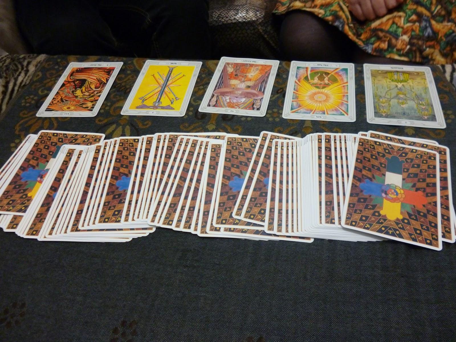how to choose my tarot cards