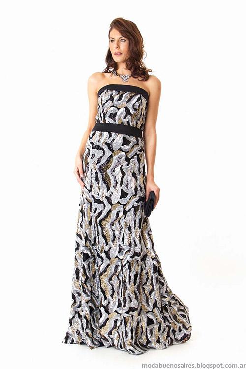 Moda vestidos de fiesta 2015 Veronica Far.