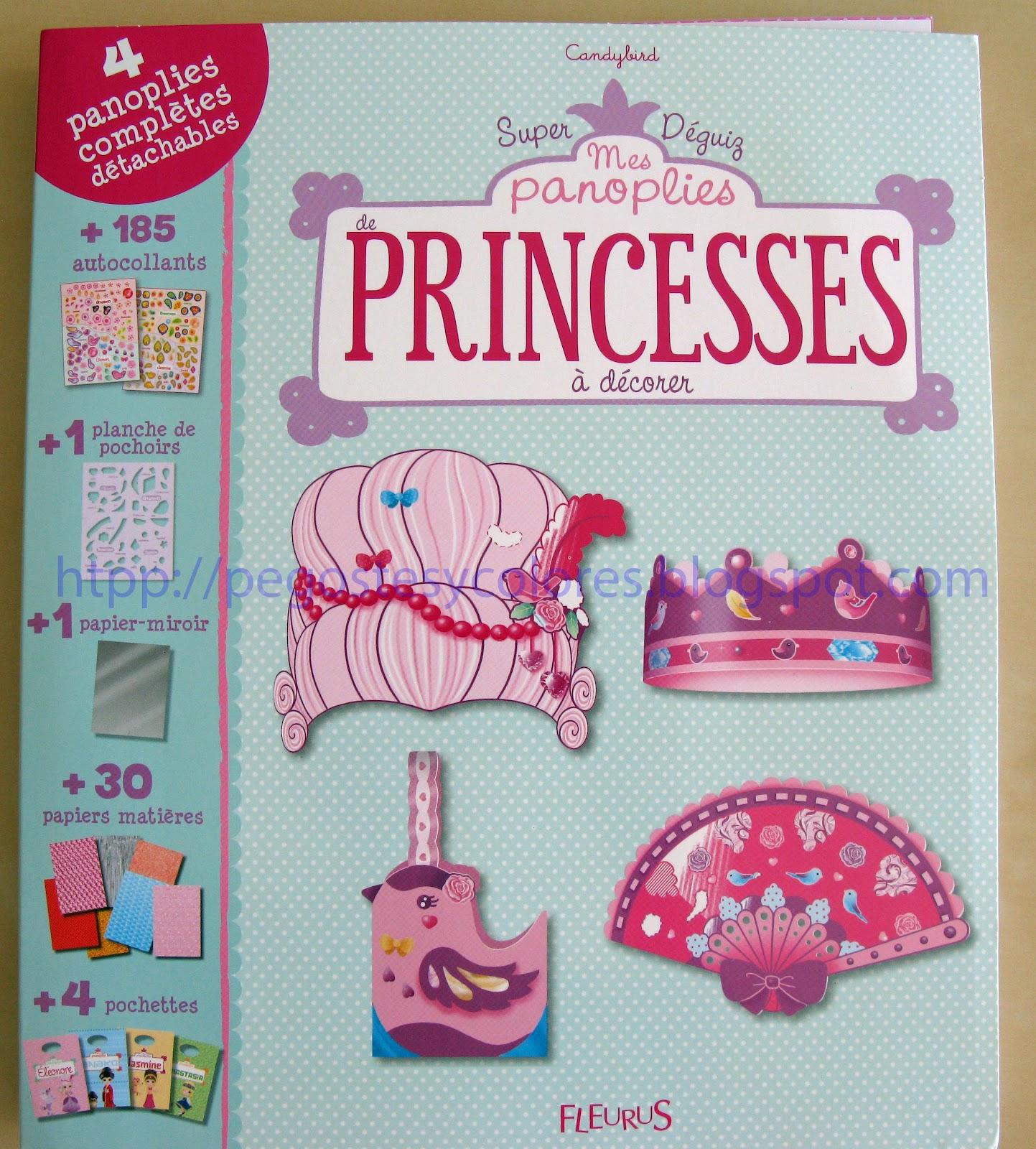 Pegostes y colores libros mis trajes de princesas para - Libros para decorar ...